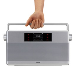 Geneva World Radio is portable