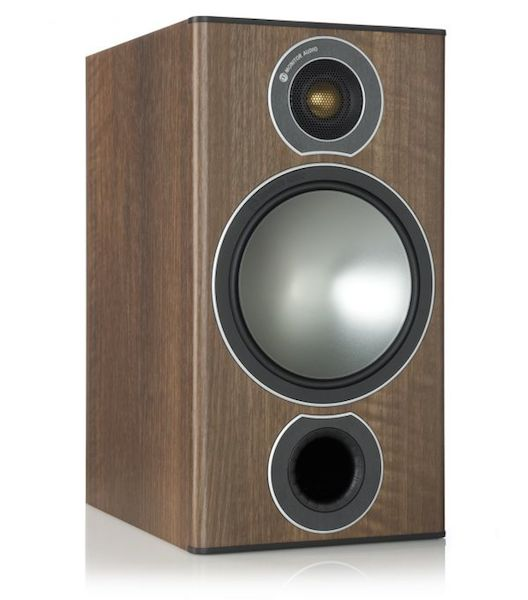 Monitor Audio Bronze 2 in dark walnut from Totally Wired