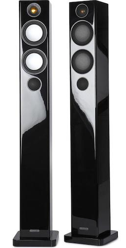 Radius 270 speakers in gloss black from Totally Wired