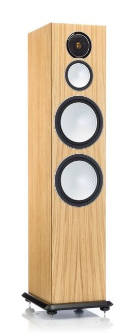 Monitor Audio Silver 10 loudspeakers in oak at Totally Wired