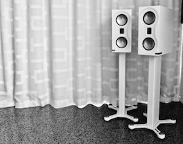 Monitor Audio Studio speakers at Totally Wired
