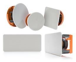 Monitor Audio Trimless in-built speaker options