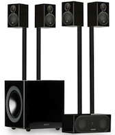 Radius HT speaker system