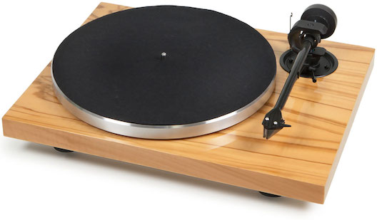 Pro-ject 1Xpression in Olive from Totally Wired
