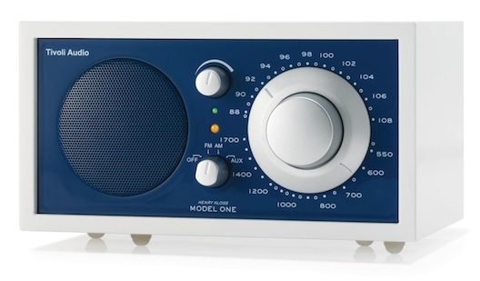Tivoli Model One radio Frost White blue