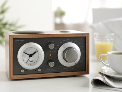 Tivoli Model Three clock radio with Bluetooth